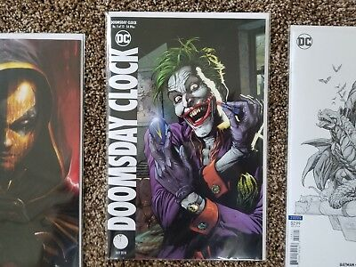 Doomsday Clock #5 Variant Dc Comics Near Mint 5/30/18