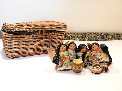 """Enesco Friends Of The Feather""""Best Of Friends' Rare 5th Anniversary"""