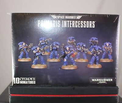 Warhammer 40.000 / 40K Space Marines Primaris Intercessors (Games Workshop) Neu