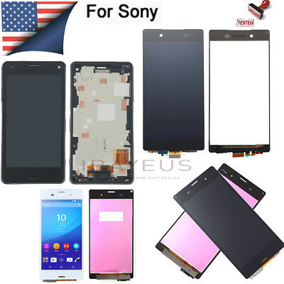 Screen For Sony Xperia Z1 Z2 Z3 Z4 Z5 Z LCD Touch Digitizer Replacement Assembly