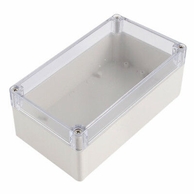 Waterproof Clear Cover Plastic Electronic Project Box 158x90x60mm C7L6 ZC