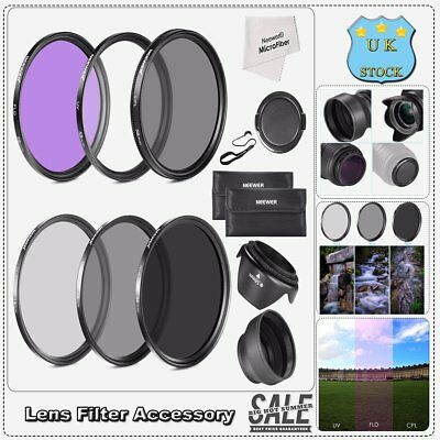 58MM Must Have Lens Filter  Kit Set For Canon,Nikon and Other Camera Lens New