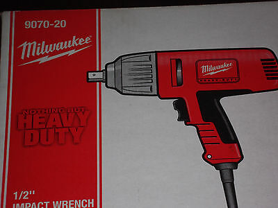 "Milwaukee 9070-20, 1/2"" Impact Wrench,Rocker Switch,Detent Pin F/SHIP NEW SEALED"