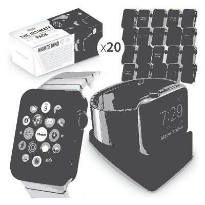 Orzly ULTIMATE PACK for Apple Watch (38 MM) - Gift Pack Includes Orzly Compact