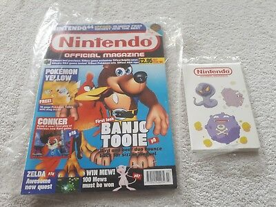 OFFICIAL NINTENDO MAGAZINE issue 94 WITH EXTRAS PERFECT COLLECTOR'S CONDITION