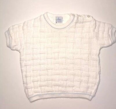 Vintage Baby Boy Sweater Brand Atkins Made In Israel