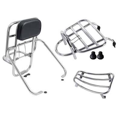 TSR Vespa GTS/GT Super Touring Rack Combo Front+Rear+Floor 125/250/300 Luggage