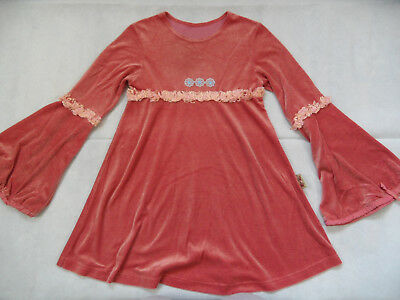 3c1cca05bb92 TOFF TOGS schönes Nickishirt Minikleid Hippie orange Gr. 140 TOP ST818
