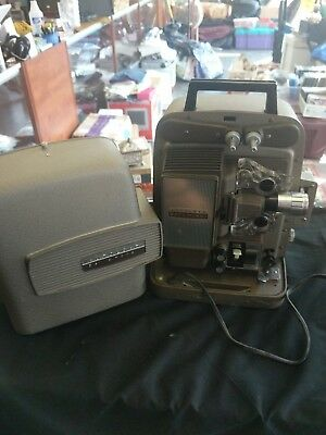 Vintage Bell & Howell Model 266A Autoload 8mm Movie Film Projector Original Box