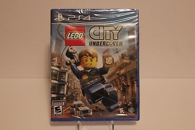 LEGO City Undercover (Sony PlayStation 4, 2017) Brand New & Sealed