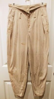 Vintage 80's Limited Express High Waist Button Fly Harem Pants Size 7/8
