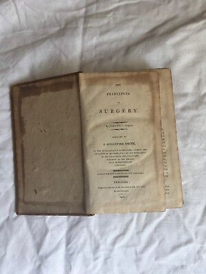 Rare 1812 illustrated Medical Surgical Book Principles of Surgery John Bell