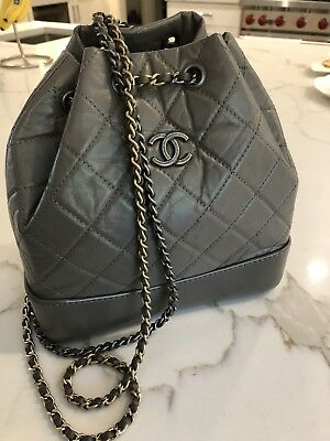 f5a0d0bd645a CHANEL SMALL GABRIELLE Backpack Taupe - $3,999.00 | PicClick