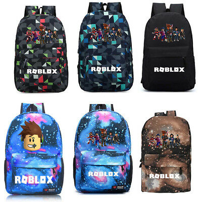 Roblox Backpack Kids School Bag Student Boys Bookbag Handbag Travelbag Xams Gift