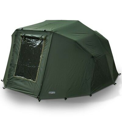 2 Man 'Fortress' Overwrap'  NGT Green Carp Fishing Bivvy Wrap Tent With Window