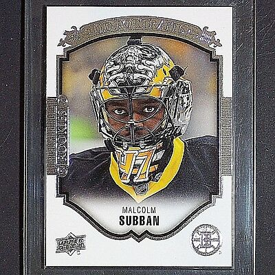 MALCOLM SUBBAN  RC  2015/16  UD Portraits  #P55  Vegas Golden Knights  Rookie