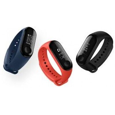 Xiaomi Mi Band 3 Heart Rate Smart Watch Wristband Fitness with White OLED -Black
