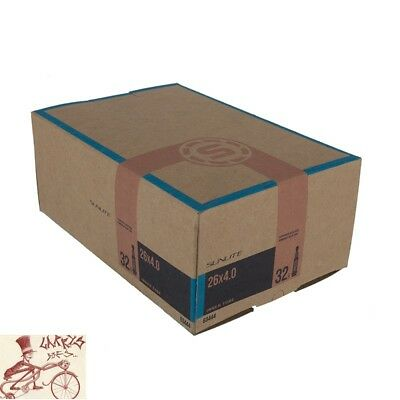 "4 Qty Bicycle Tubes 26/"" x 2.0 Prozio 32mm Presta Threaded Valve Tube"