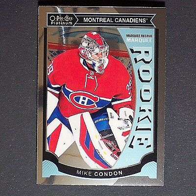 MIKE CONDON  RC 2015/16 OPC Platinum #M32  Ottawa Senators  Habs   Rookie Single