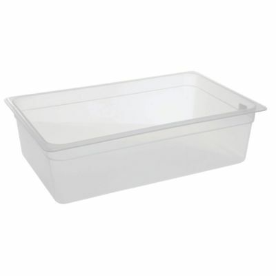 Cambro Food Pan Full Size Translucent