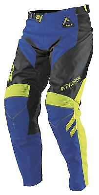 MSR Ascent Pants Royal/Black/Green (Blue, 34)