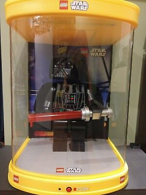 "Lego 19"" Darth Vader Star Wars Store Display with Lights and Motion 19 Inch"