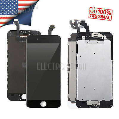 iPhone 6 Plus LCD Screen Replacement Complete Assembly Touch Digitizer & Button