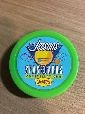 Hanna Barbera The Jetsons Spacecraft Space Cards - 1992 Denny's Promo