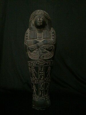 ANCIENT EGYPT EGYPTIAN ANTIQUITIES Ushabti Shabti Statue Stone 1932–1759 BC