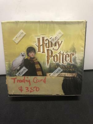 Harry Potter And The Sorcerers Stone Movie Trading Cards Display Box FACT SEALED