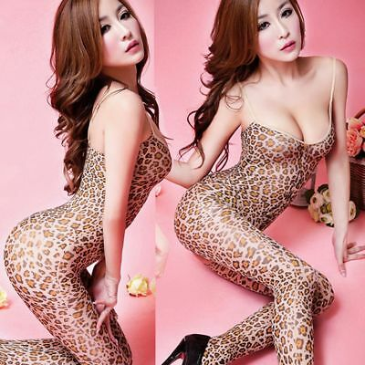 Crotch Body Stocking Lingerie Nightwear Sexy Bodysuit Jumpsuits Catsuit Tights