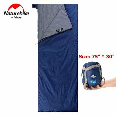 Portable Outdoor Traveling Single Sleeping Bag Hiking Envelope Sleeping Bag VP