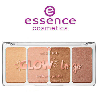 [ESSENCE] Glow to Go Highlighter Palette 10 SUNKISSED GLOW 14g NEW