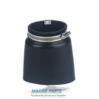 Boat Marine Shift Cable Bellow With Clamps 61-00504 Replaces Mercury 74639A2