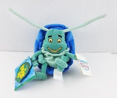 "Disney Pixar A Bug's Life Tuck 8"" Mini Beanbag Plush Toy With Original Tags"