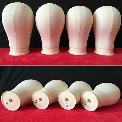Professional Canvas Block Head Wigs Wig Making Hats Mannequin Clamp Hair Salon