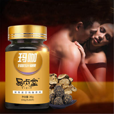 Maca root Capsules 600mg Blet Cady 100% Natural 60 Capsules Exotic Herb For Men