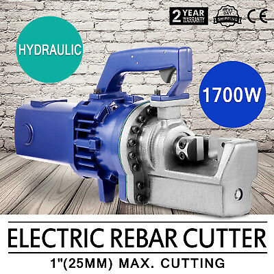 RC-25mm 1700W 1 8# Electric Hydraulic Rebar Cutter Piston 5s-5.5s Bender