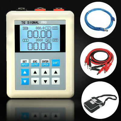 4-20mA/0-10V Digital Current Signal Generator Source Transmitter PLC Kalibrator