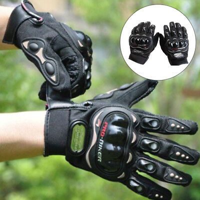 Motorcycle Motorbike Gloves Thermal Armoured Knuckle Extra Protection Summer UK
