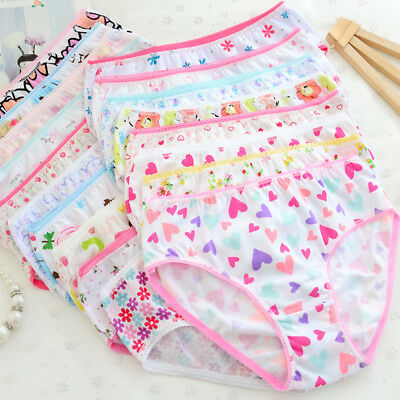 6pcs Baby Girls Underpants Soft Cotton Panties Child Underwear Kids Short Briefs