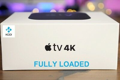 Brand New Apple TV 4K 64GB with Kodi and Popcorn Time Installed