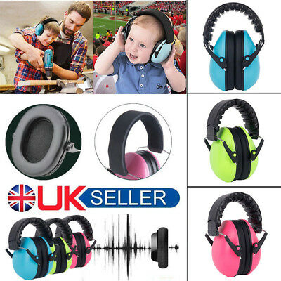 Kids Child Baby Ear Muff Defenders Noise Reduction Comfort Earmuff Protection UK