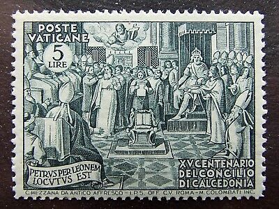 Vatican City,1951, SG164-167,100th Anniv of Council of Chalzedon, set of 5, MNH