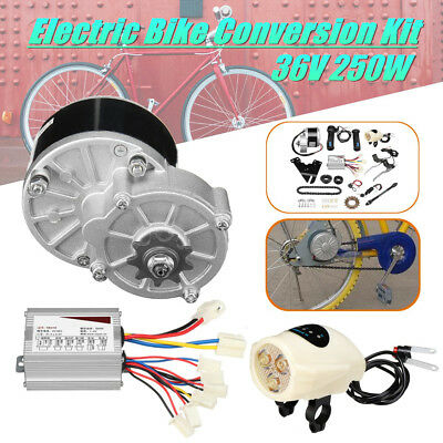 36V 250W Electric Bike Conversion Motor Controller Kit For 22-28'' Ordinary Bike