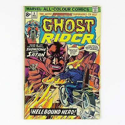 Ghost Rider (vol.1) #9 (VG+ | 4.5, pence copy)