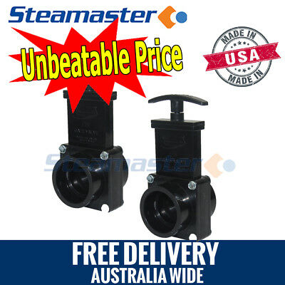 Portable Carpet Cleaners 2 x Gate Valve Dump Valve Carpet Cleaning Extractor
