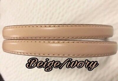 "Straps replacements BEIGE/IVORY 9/16""wide brandnew"