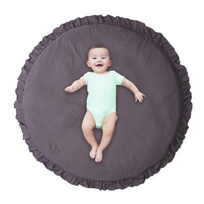 Baby Game Mat Lace Play Crawl Round Rug Carpet Mad Kids Room Cushion Decoration