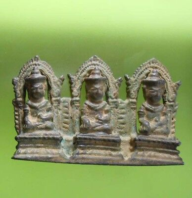 Perfect! Old Thai Buddha Amulet Statue Phra Lopburi Very Nice